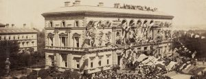 celebrations marking the arrivel of the Earl of Hopetoun at the Treasury Building East Melbourne