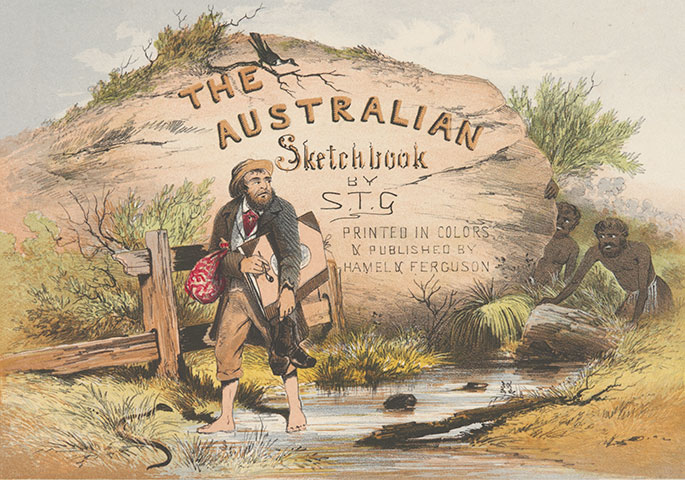 ST Gill - The Australian Sketchbook