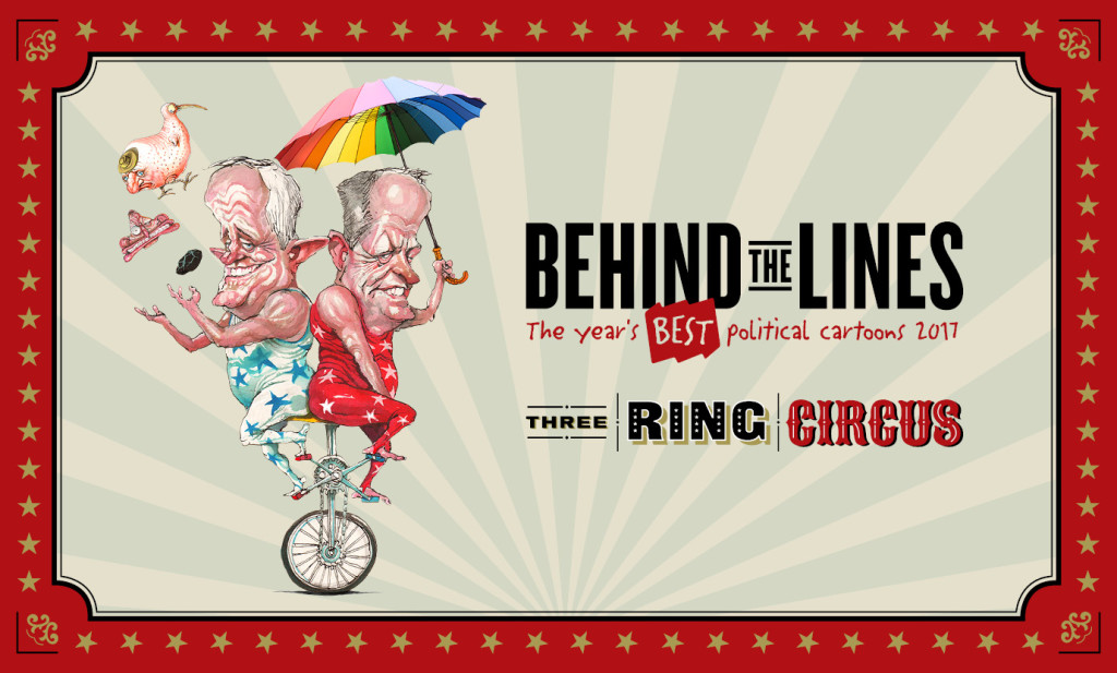 Behind the Lines 2017 Melbourne Old Treasury Building