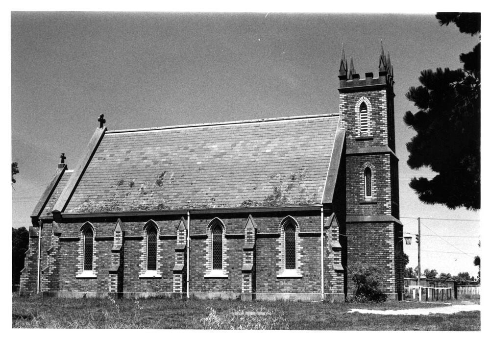 St James Church Drysdale. Photographer: John T Collins. Photo courtesy State Library of Victoria.