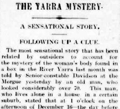 Yarra Mystery Argus