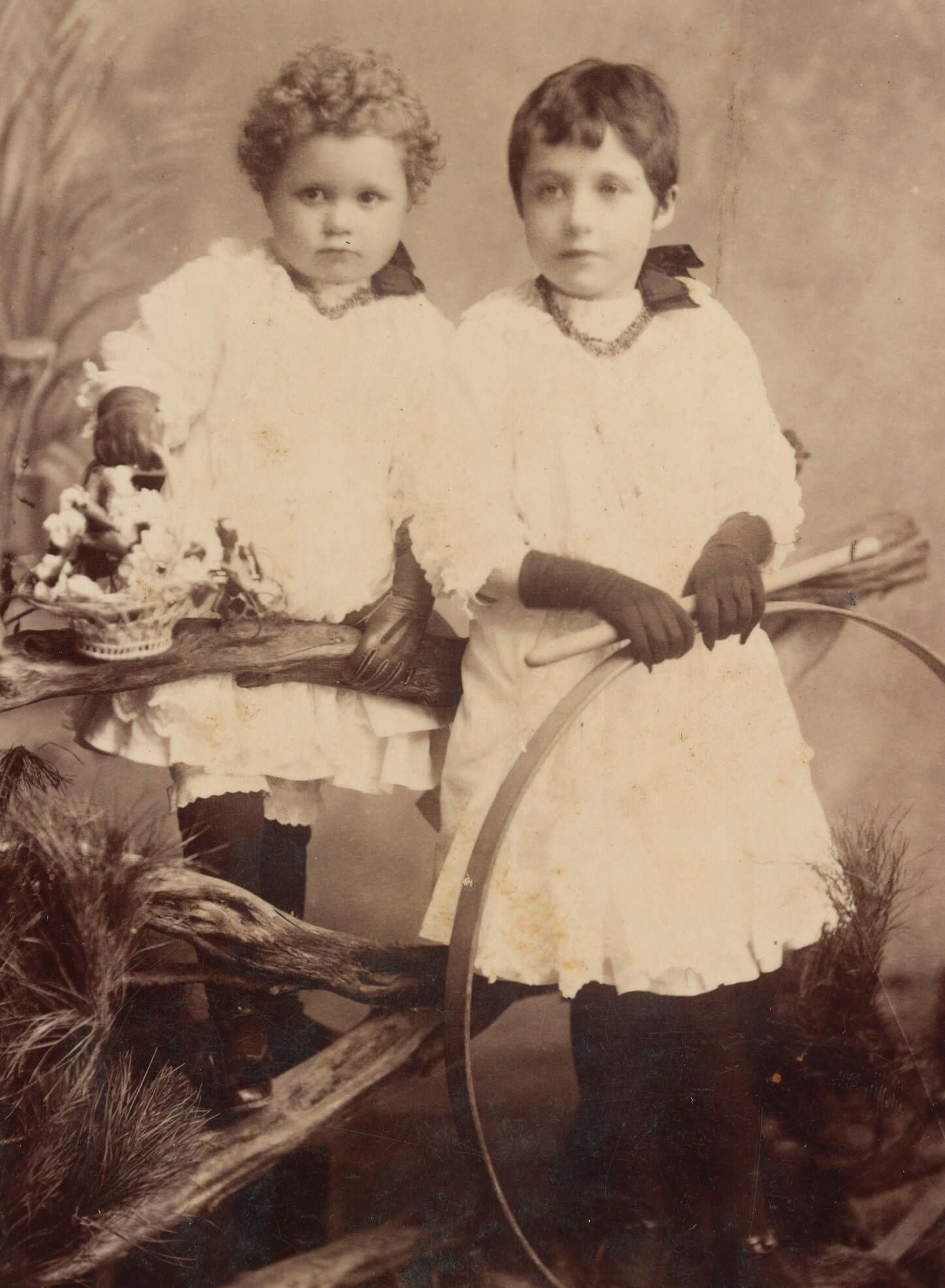 Photograph of Martha Needle's children. Courtesy State Library of Victoria.