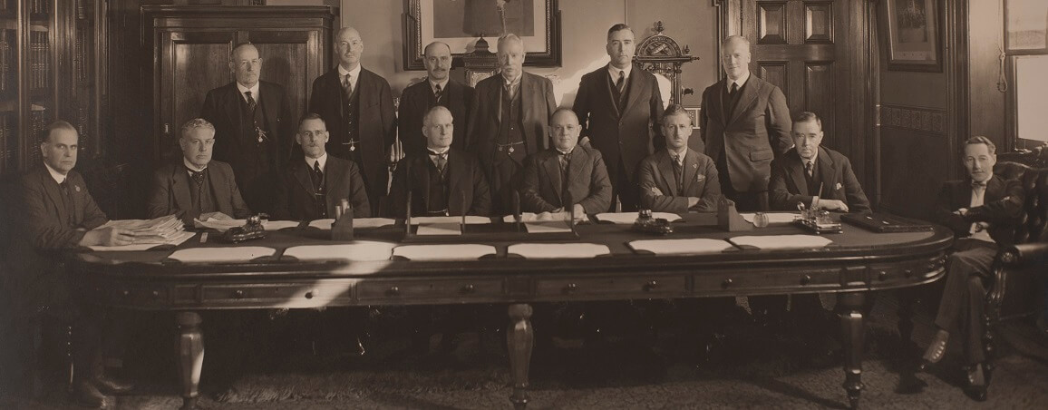 The Governor of Victoria's Executive Council in 1934