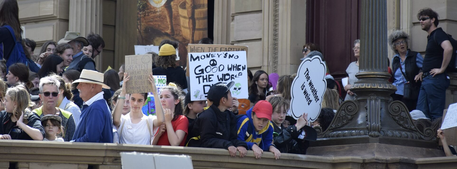 School Strike 4 Climate in Melbourne, 15 March 2019.